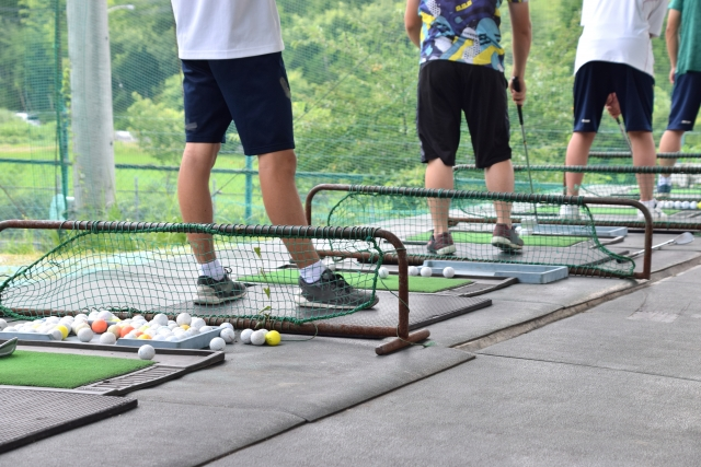 ゴルフ練習場の入場者が激減しているらしい!