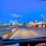 幹線道路ドライブ